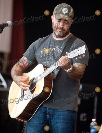 Aaron Lewis Photo - 20 July 2012 - Morristown Ohio - Aaron Lewis Aaron Lewis performs during the 2012 Jamboree In The Hills Photo Credit Ryan PavlovAdMedia