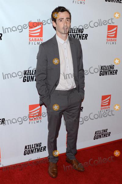 AMITAI MARMORSTEIN Photo - 14 October 2017 - Hollywood California - AMITAI MARMORSTEIN Killing Gunther Los Angeles Premiere held at TLC Chinese Theater Photo Credit Billy BennightAdMedia