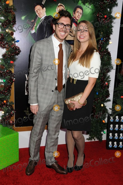 Amir Blumenfeld Photo - 2 November 2011 - Hollywood California - Amir Blumenfeld and Laura Turner Garrison A Very Harold  Kumar 3D Christmas Los Angeles Premiere held at Graumans Chinese Theatre Photo Credit Byron PurvisAdMedia