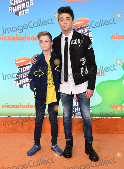 Avi Angel Photo - 23 March 2019 - Los Angeles California - Avi Angel Asher Angel 2019 Nickeldeon Kids Choice Awards held at The USC Galen Center Photo Credit Birdie ThompsonAdMedia