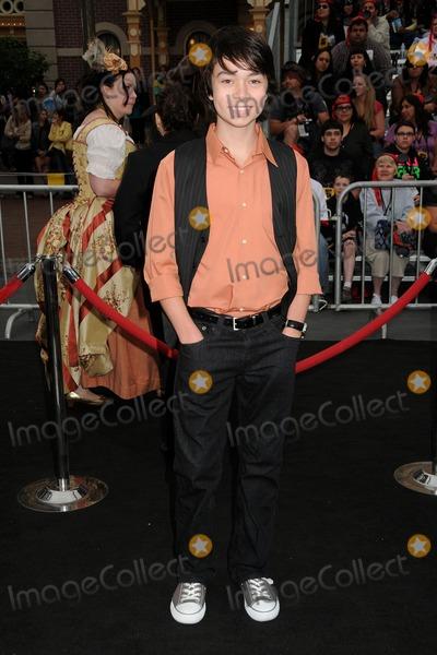 Noah Ringer Photo - 7 May 2011 - Anaheim California - Noah Ringer Pirates Of The Caribbean On Stranger Tides World Premiere held at Disneyland Photo Credit Byron PurvisAdMedia