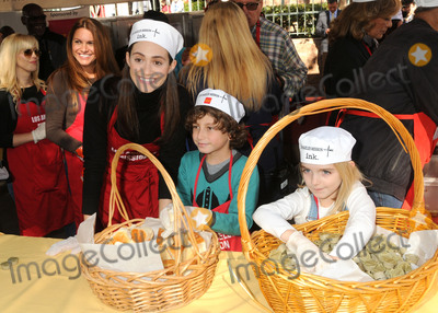 August Maturo Photo - 25 November 2015 - Los Angeles California - Emmy Rossum August Maturo McKenna Grace 2015 Los Angeles Mission Thanksgiving Meal for the Homeless held at the LA Mission Photo Credit Byron PurvisAdMedia