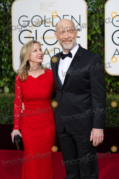 J K Simmons Photo - Michelle Schumacher and JK Simmons arrive at the 73rd Annual Golden Globe Awards at the Beverly Hilton in Beverly Hills CA on Sunday January 10 2016 Photo Credit HFPAAdMedia