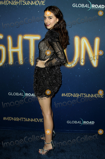 Quinn Shephard Photo - 15 March 2018 - Los Angeles California - Quinn Shephard Midnight Sun Premiere held at the ArcLight Hollywood Theatre Photo Credit AdMedia