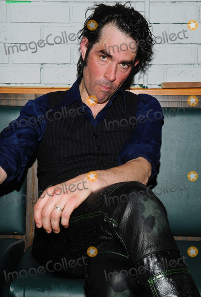 Jon Spencer Photo - 12 July 2013 - Hamilton Ontario Canada  Singer Jon Spencer of alternative rock band The Jon Spencer Blues Explosion backstage after a performance at This Aint Hollywood  Photo Credit Brent PerniacAdMedia
