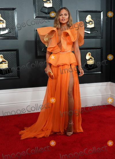 Chrissy Teigen Photo - 26 January 2020 - Los Angeles California - Chrissy Teigen 62nd Annual GRAMMY Awards held at Staples Center Photo Credit AdMedia