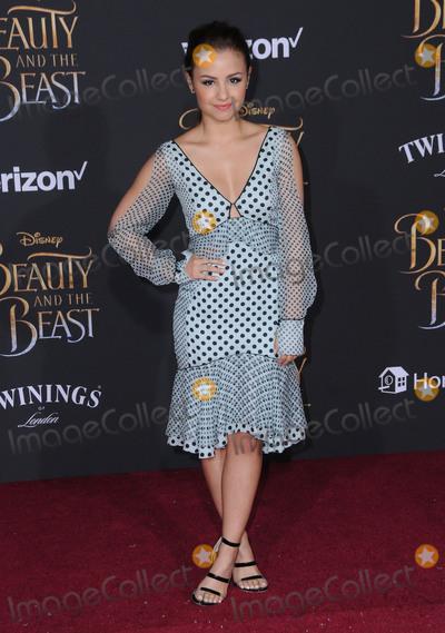 Aimee Carrero Photo - 02 March 2017 - Hollywood California - Aimee Carrero Los Angeles premiere of Disneys Beauty and the Beast held at El Capitan Theatre Photo Credit Birdie ThompsonAdMedia