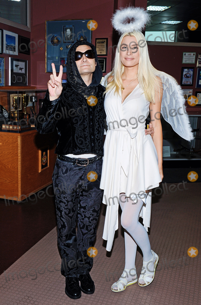 Anne Mitchell Photo - 01 October 2016 - Hamilton Ontario Canada  Actorsinger Corey Feldman with girlfriend Angel Courtney Anne Mitchell at Hamilton Comic Con at the Canadian Warplane Heritage Museum Photo Credit Brent PerniacAdMedia