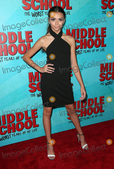 Ashlund Jade Photo - 05 October 2016 - Hollywood California - Ashlund Jade Middle School The Worst Years Of My Life Los Angeles Premiere held at TCL Chinese 6 Theatres Photo Credit F SadouAdMedia
