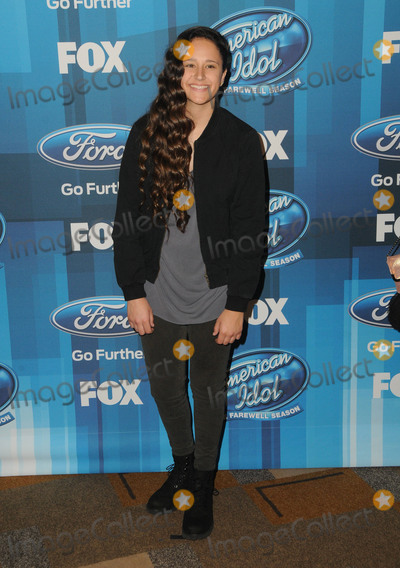 Avalon Young Photo - 07 April 2016 - Hollywood California - Avalon Young Arrivals for FOXs American Idol Finale For The Farewell Season held at The Dolby Theater Photo Credit Birdie ThompsonAdMedia