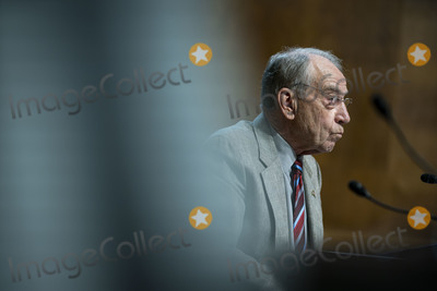 Chuck Grassley Photo - United States Senator Chuck Grassley (Republican of Iowa) listens during a US Senate Judiciary Subcommittee hearing in Washington DC US on Tuesday April 27 2021 The hearing is examining the effect social media companies algorithms and design choices have on users and discourse Credit Al Drago  Pool via CNPAdMedia