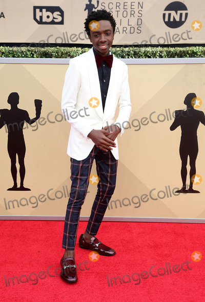 Caleb McLaughlin Photo - 21 January 2018 - Los Angeles California - Caleb McLaughlin 24th Annual Screen Actors Guild Awards held at The Shrine Auditorium Photo Credit RetnaAdMedia