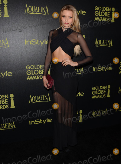 Abbey Lee Photo - 20 November 2014 - Los Angeles California - Abbey Lee Arrivals for HFPAInStyles Miss Golden Globes Announcement Party held at Fig  Olive in Los Angeles Ca Photo Credit Birdie ThompsonAdMedia