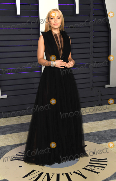 Dove Cameron Photo - 24 February 2019 - Los Angeles California - Dove Cameron 2019 Vanity Fair Oscar Party following the 91st Academy Awards held at the Wallis Annenberg Center for the Performing Arts Photo Credit Birdie ThompsonAdMedia