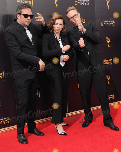 Adam Schlesinger Photo - 10 September 2016 - Los Angeles California Adam Schlesinger Rachel Bloom Jack Dorgen 2016 Creative Arts Emmy Awards - Day 1 held at Microsoft Theater Photo Credit Birdie ThompsonAdMedia