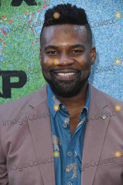 Amine Photo - 16 July 2018 - Los Angeles California - Amin Joseph FXs Snowfall Season 2 Premiere held at the Regal Cinemas at LA LIVE Photo Credit Birdie ThompsonAdMedia