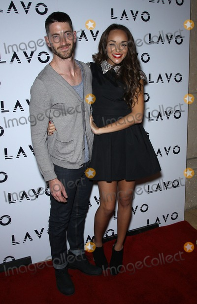 Kennedy Photo - 03 December 2011 - Las Vegas Nevada - Iddo Goldberg Ashley Madekwe Jason Kennedy from E and Ashley Madekwe from Revenge celebrate their birthdays at Lavo inside The Palazzo Las Vegas  Photo Credit MJTAdMedia