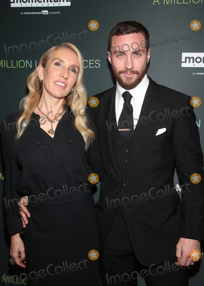 Aaron Taylor-Johnson Photo - 4 December 2019 - West Hollywood California - Aaron Taylor-Johnson Sam Taylor-Johnson Special Screening Of Momentum Pictures A Million Little Pieces held at The London Hotel Photo Credit FSAdMedia