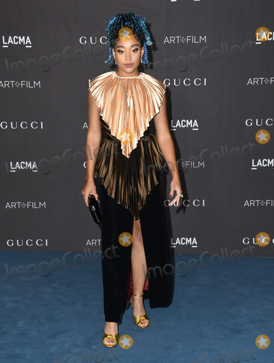 Amandla Stenberg Photo - 02 November 2019 - Los Angeles California - Amandla Stenberg 2019 LACMA Art  Film Gala Presented By Gucci held at LACMA Photo Credit Birdie ThompsonAdMedia