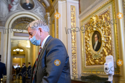 Senator Lindsey Graham Photo - Senator Lindsey Graham R-SC  walks across the  Senate Reception Room to meet with Trump defense team in the US Capitol at the conclusion of day two in the second impeachment trial of former US president Donald Trump in Washington DC on February 11 2021 POOLAFP PHOTOCredit Mandel Ngan - Pool via CNPAdMedia