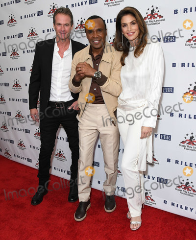 Sugar Ray Photo - 22 May 2019 - Beverly Hills California - Rande Gerber Sugar Ray Leonard Cindy Crawford The 10th Annual Big FIghters Big Cause Charity Boxing Event held at Beverly Hilton Hotel Photo Credit Birdie ThompsonAdMedia