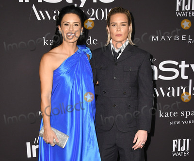 Ali Krieger Photo - 21 October 2019 - Hollywood California - Ali Krieger Ashlyn Harris 2019 InStyle Awards held at The Getty Center Photo Credit Birdie ThompsonAdMedia