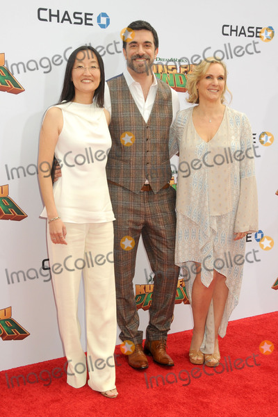 Alessandro Carloni Photo - 16 January 2016 - Hollywood California - Jennifer Yuh Nelson Alessandro Carloni Melissa Cobb Kung Fu Panda 3 Los Angeles Premiere held at the TCL Chinese Theatre IMAX Photo Credit Byron PurvisAdMedia