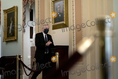 Angus King Photo - United States Senator Angus King Jr (Independent of Maine) wears a protective mask while walking to the Senate Chamber at the US Capitol in Washington DC US on Tuesday Feb 9 2021 The Senate begins Donald Trumps second impeachment trial today with a fight over whether the proceeding is constitutional as a number of conservative lawyers reject the defense teams claim that a former president cant be convicted of a crime by Congress Credit Stefani Reynolds  Pool via CNPAdMedia