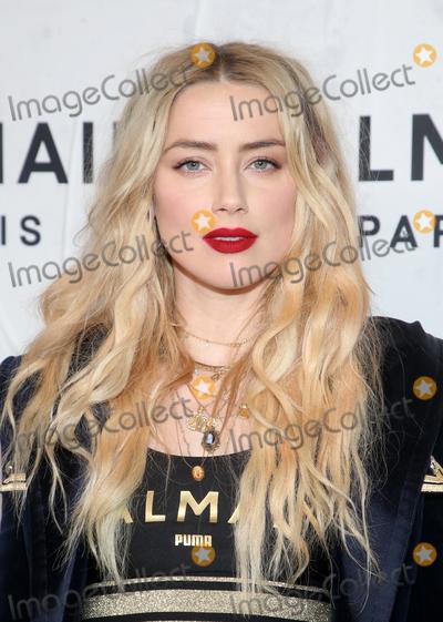 Amber Heard Photo - 21 November 2019 - Los Angeles California - Amber Heard PUMA x Balmain- created with Cara Delevingne LA Launch Event held at Milk Studios Photo Credit FSAdMedia