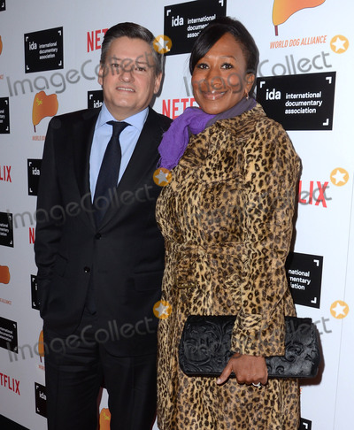 Avant Photo - 05 December - Hollywood Ca - Ted Sarandos Nicole Avant Arrivals for the IDA Documentary Awards held at Paramount Studios Photo Credit Birdie ThompsonAdMedia