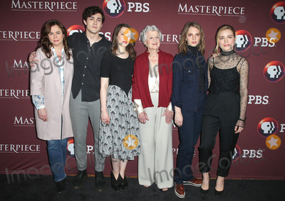 Annes Elwy Photo - 16 January 2018 - Pasadena California - Emily Watson Jonah Hauer-King Annes Elwy Angela Lansbury Maya Hawke Willa Fitzgerald Collin Callender Heidi Thomas Masterpiece Little Women Photo Call held at the Langham Hotel Photo Credit F SadouAdMedia