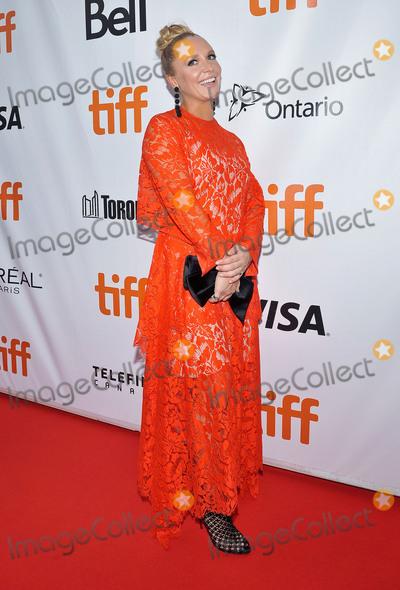 Annie Starke Photo - 14 September 2017 - Toronto Ontario Canada - Annie Starke 2017 Toronto International Film Festival - The Wife Premiere held at Roy Thomson Hall Photo Credit Brent PerniacAdMedia