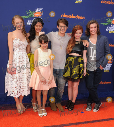 Anne Jackson Photo - 16 July 2015 - Westwood California - Gail Soltys Galilea La Salvia Liam Obergfoll Maria Quezada Joshua Hoffman Ellis Ann Jackson Nickelodeon Kids Choice Sports Awards 2015 held at the UCLA Pauley Pavilion Photo Credit Byron PurvisAdMedia