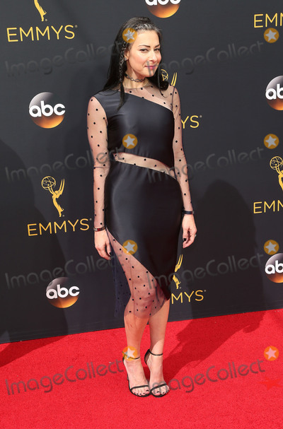 Stacy London Photo - 18 September 2016 - Los Angeles California - Stacy London 68th Annual Primetime Emmy Awards held at Microsoft Theater Photo Credit AdMedia
