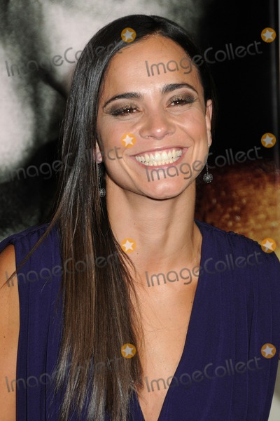 Alice Braga Photo - 26 January 2011 - Hollywood California - Alice Braga The Rite Los Angeles Premiere held at Graumans Chinese Theatre Photo Byron PurvisAdMedia