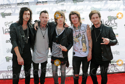 Sam Bettley Photo - 22 July 2015 - Cleveland Ohio - Ben Bruce James Cassells Cameron Liddell Sam Bettley and Denis Stoff of the band Asking Alexandria attend the 2015 Alternative Press Music Awards at Quicken Loans Arena  Photo Credit Jason L NelsonAdMedia