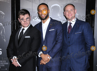 Alek Skarlatos Photo - 05 February 2018 - Burbank California - Alek Skarlatos Anthony Sadler Spencer Stone The 1517 To Paris Los Angeles Premiere held at Warner Bros Studios SJR Theater Photo Credit Birdie ThompsonAdMedia