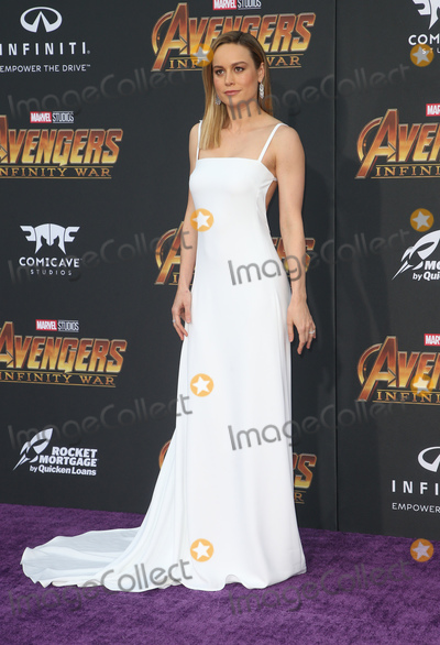 Brie Larson Photo - 23 April 2018 - Hollywood California - Brie Larson Disney and Marvels Avengers Infinity War Los Angeles Premiere held at Dolby Theater Photo Credit F SadouAdMedia