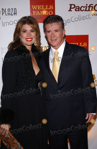 Tanya Callau Photo - 13 December 2016 - Burbank California - Alan Thicke beloved TV dad and real-life father of RB and pop superstar Robin Thicke died Tuesday at age 69 of a heart attack while playing hockey with his 19 year-old son Carter Thicke File Photo 4 November 2004 - Los Angeles California - Alan Thicke and Tanya  3rd Annual Cabaret of Dreams celebrating the 10th anniversary of the Dream Foundation held at thePark Plaza Hotel Photo Credit Jacqui WongAdMedia