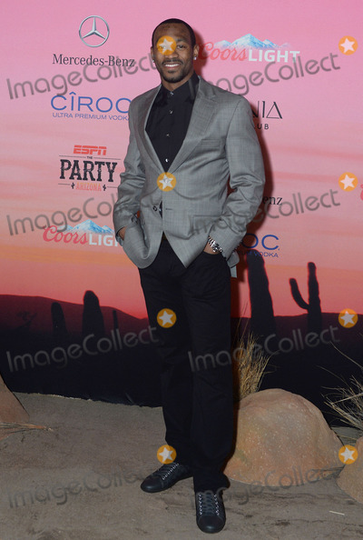 Antoine Cason Photo - 30 January 2015 - Scottsdale Arizona - Antoine Cason ESPN The Party held at WestWorld of Scottsdale Photo Credit Keith SparbanieAdMedia