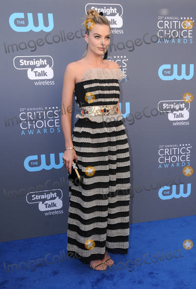 Margot Robbie Photo - 11 January 2018 - Santa Monica California - Margot Robbie 23rd Annual Critics Choice Awards held at Barker Hangar Photo Credit Birdie ThompsonAdMedia