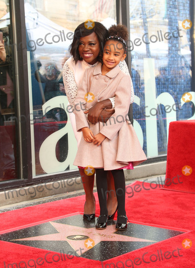 Genesis Photo - 05 January 2017 - Hollywood California - Viola Davis Genesis Tennon Viola Davis Honored With Star On The Hollywood Walk Of Fame Photo Credit F SadouAdMedia