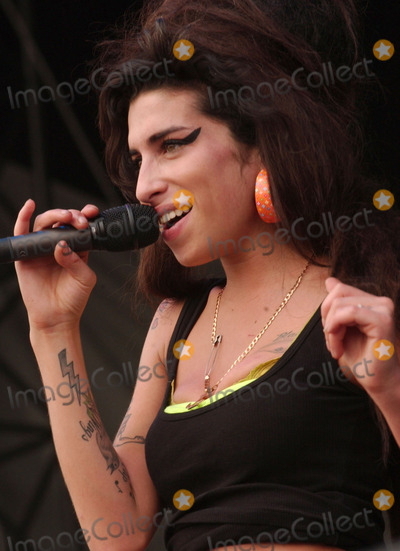 Amy Winehouse Photo - 23 July 2011 - London  England - English singersongwriter Amy Winehouse was found dead in her London home on July 23 2011 She was 27 Winehouses 2006 album Back to Black was nominated for six GRAMMY awards of which she won five including Record of the Year File Photo 04 August 2007 - Baltimore Maryland - Amy Winehouse 2nd Annual Virgin Festival By Virgin Mobile - Day One held at Pimilco Race Course Photo Credit Devin SimmonsAdMedia