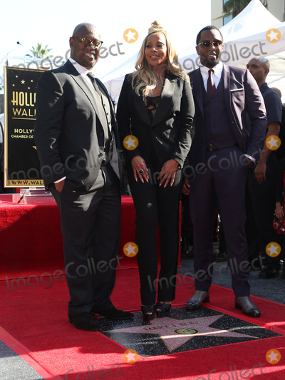 Andre Harrell Photo - 11 January 2018 - Hollywood California - Andre Harrell Mary J Blige Sean Combs Mary J Blige Honored With A Star On The Hollywood Walk of Fame  Photo Credit F SadouAdMedia