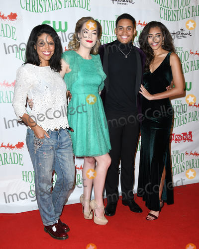 Adain Bradley Photo - 25 November 2018 - Hollywood California - Karla Mosley Annika Noelle Adain Bradley Kiara Barnes  The 87th Annual Hollywood Christmas Parade held at Hollywood Blvd Photo Credit Birdie ThompsonAdMedia