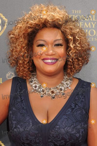 SUNNY ANDERSON Photo - 26 April 2015 - Burbank California - Sunny Anderson The 42nd Annual Daytime Emmy Awards - Arrivals held at Warner Bros Studios Photo Credit Byron PurvisAdMedia