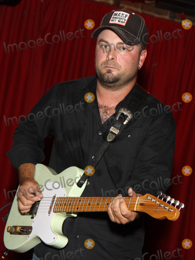 Pete Huttlinger Photo - July 26 2011 - Nashville TN - Nashville session musician Guthrie Trapp Artists musicians and songwriters came together at Mercy Lounge to help raise funds for Pete Huttlinger a widely respected guitarist and Nashville studio artist  Huttlinger has a congenital heart disease and is in need of a heart transplant Photo credit Dan HarrAdmedia