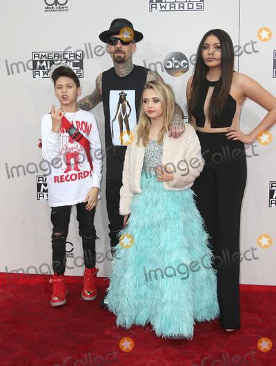 Alabama Photo - 20 November 2016 - Los Angeles California - Travis Barker Landon Asher Barker Alabama Luella Barker 2016 American Music Awards held at Microsoft Theater Photo Credit AdMedia