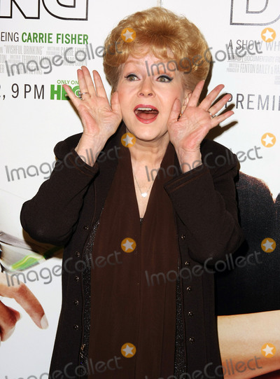 Strokes Photo - 28 December 2016 - Debbie Reynolds the Oscar-nominated Singin in the Rain  singer-actress who was the mother of late actress Carrie Fisher has died She was 84 She wanted to be with Carrie her son Todd Fisher told Variety She was taken to the hospital from Todd Fishers Beverly Hills house Wednesday after a suspected stroke the day after her daughter Carrie Fisher died File Photo 06 December 2010 - Hollywood California - Debbie Reynolds Premiere of HBOs Documentary Wishful Drinking based on Carrie Fishers tale of her life held at the Linwood Dunn Theater at the Pickford Center for Motion Study Photo Credit Tommaso BoddiAdMedia