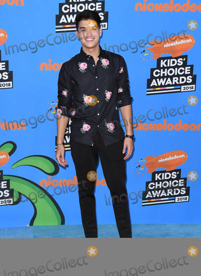 Alex Wassabi Photo - 24 March 2018 - Inglewood California - Alex Wassabi Nickelodeons 2018 Kids Choice Awards  held at The Forum Photo Credit Birdie ThompsonAdMedia